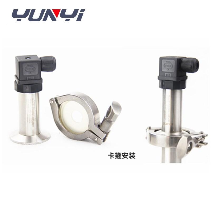 flat diaphragm sanitary pressure transducer