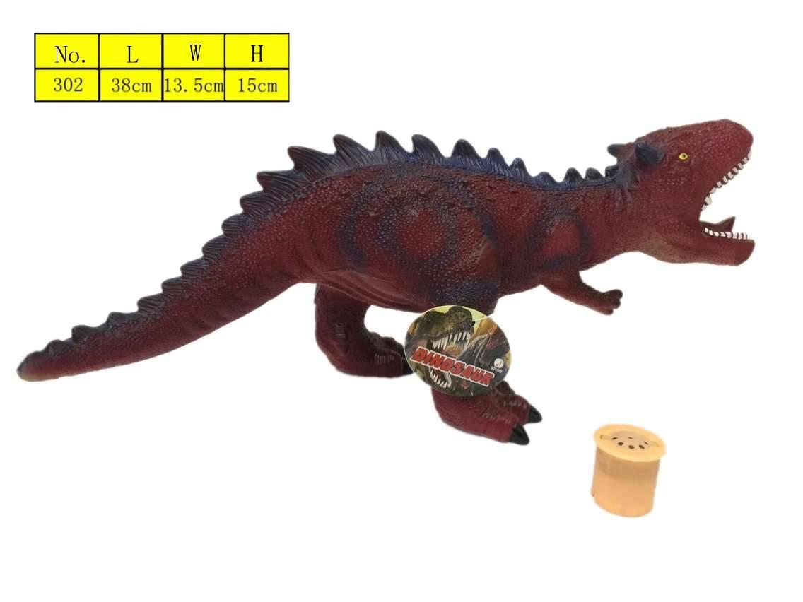 Vinyl plastic dinosaur toys stuffed cotton environmental protection material animal toys manufacture