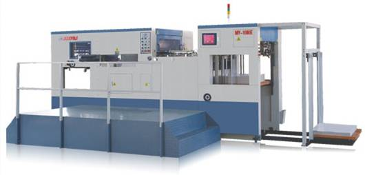 Automatic die-cutting&creasing machinery