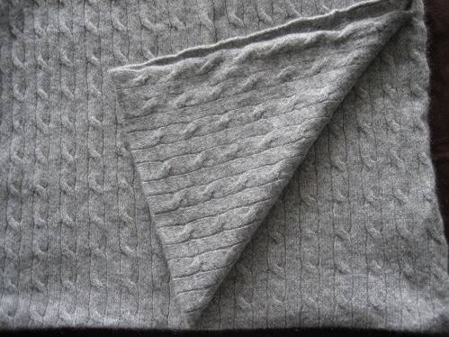 Cashmere Throw, Cashmere Blanket (P008B)