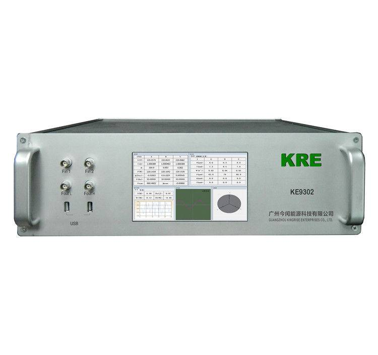 3 Channel Single Phase Reference Standard Energy Meter , Large LCD Display Screen
