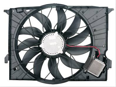 For W211 850W Automobile Electric Motor Cooling Fan