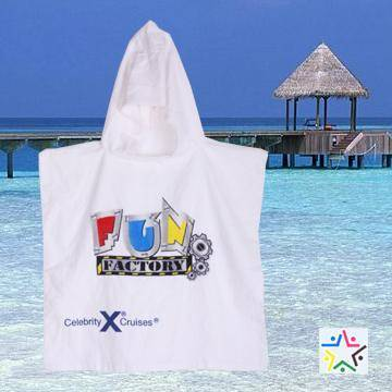 child hooded beach towel