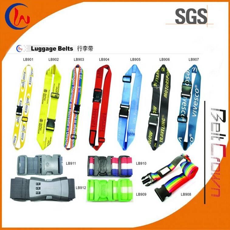Custom Practical polyester luggage belt