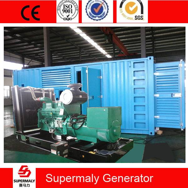 CE arrpoved Original CCEC Cummins Diesel Generator 600KVA 480KW global warranty