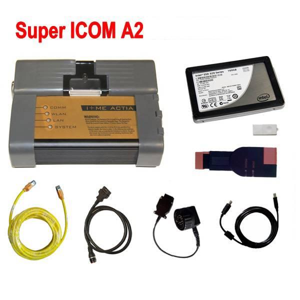 BMW ICOM A2 With Super ICOM Software SSD TOP Version