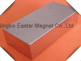 Big Size NdFeB Block Magnet for Wind Generator