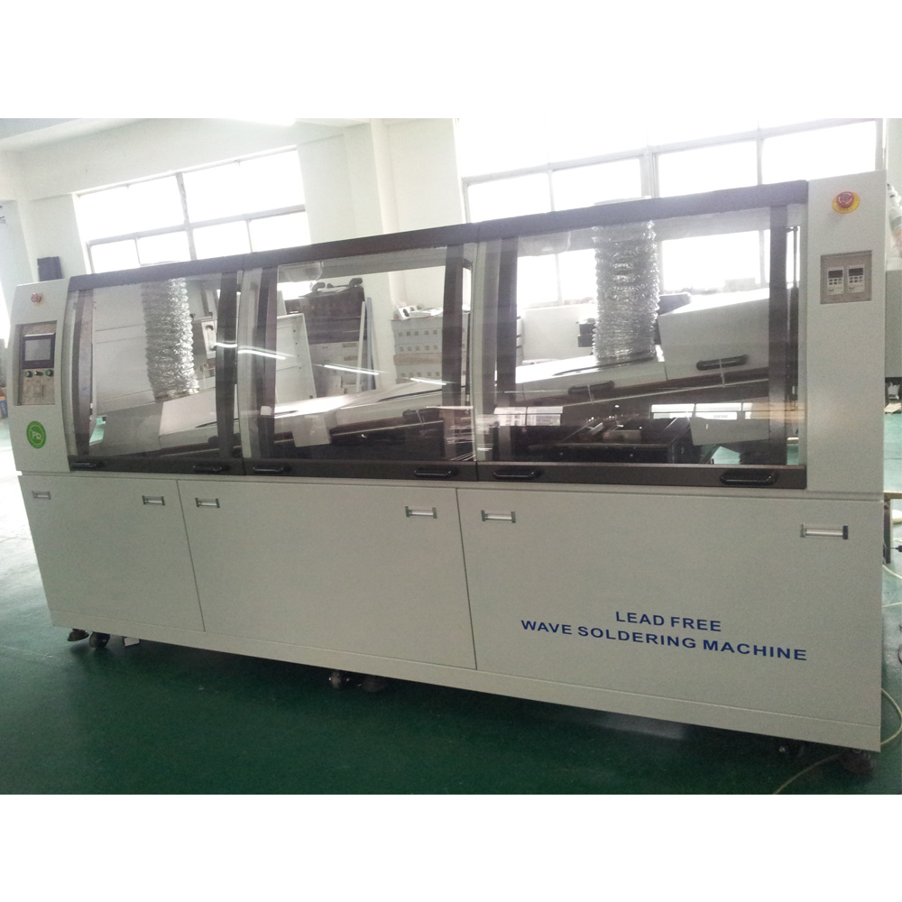 Large size lead free DIP wave soldering machine