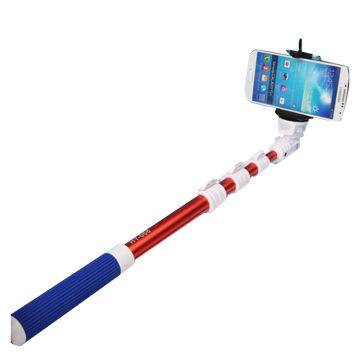 Handheld Bluetooth selfie sticks for iOS and Android