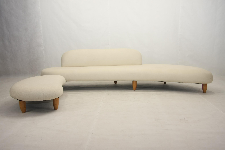 Mid century furniture Noguchi sofa in fabric