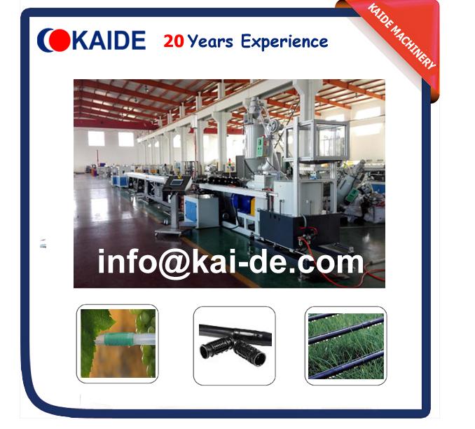 Round drip irrigation pipe making machine for sale