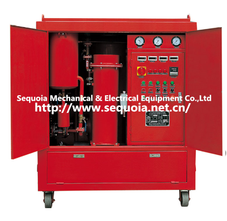 dielectric oil purifier system for transformer
