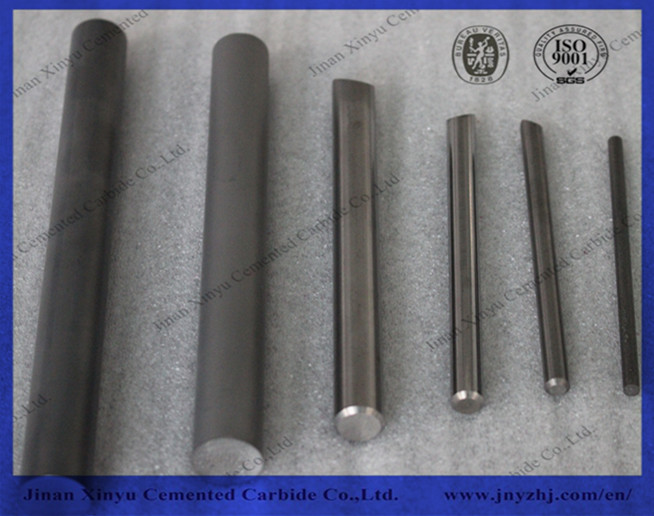 330 mm length YG10X tungsten carbide rod for end mill