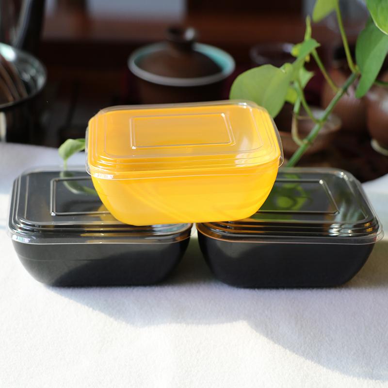 450ml 15oz PS Square Dessert Containers