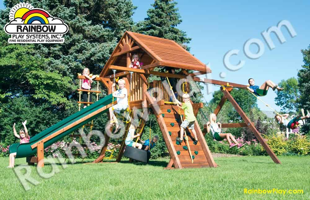 24B Rainbow Castle Package II with Wood Roof