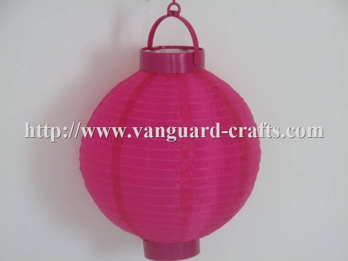 Battery Operated Nylon Lanterns