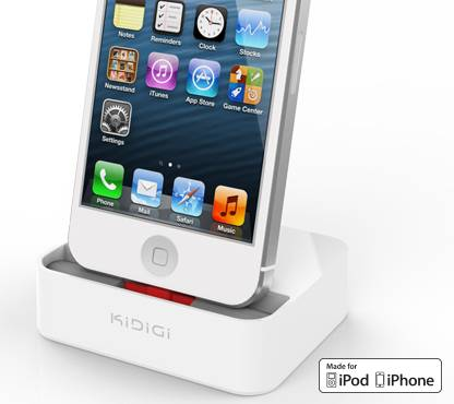 kidigi mobile phone desktop cradle cellular Case Compatible Sync & Charge Dock for iPhone 5 / iPhone