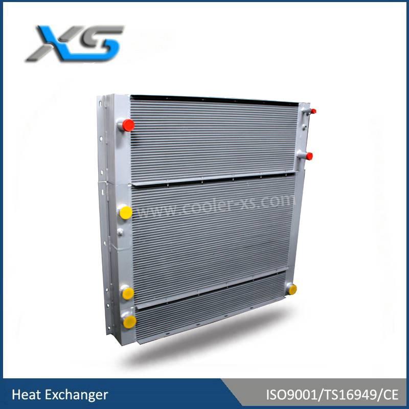 farming machinery heat exchanger