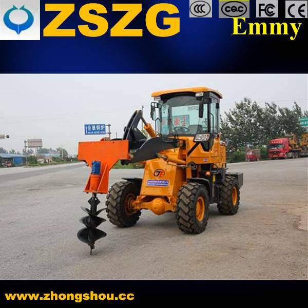 earth boring machine earth drill forklift loader