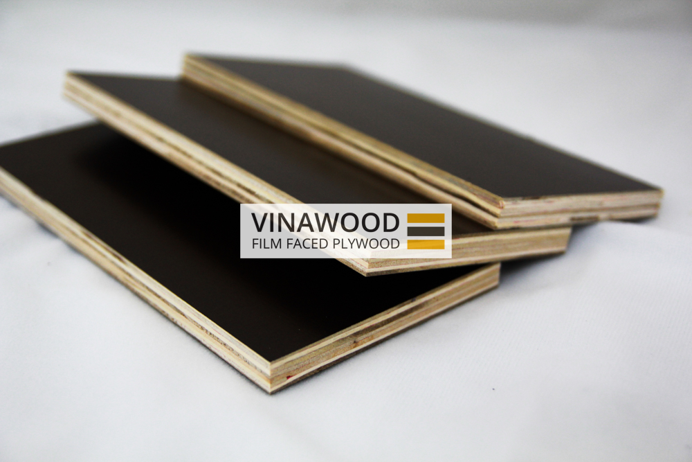 Black And Brown Film Faced Plywood Construction