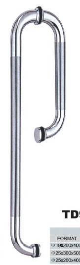 stainless steel  sliding glass door handle