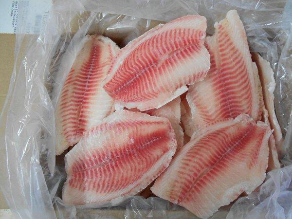 high quality frozen tilapia fillets