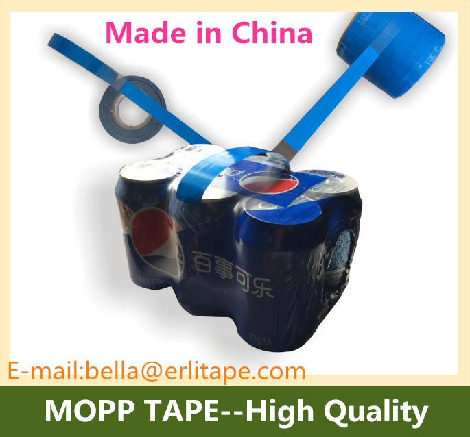 carry handle belt for soft drink cans