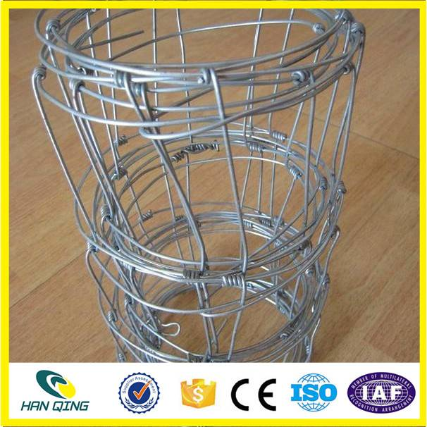 30cm weft opening galvanized hinge joint cattle fence wire mesh