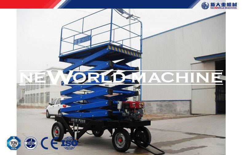 Outdoor Stationary Lift platform , Mobile platform hydraulic lift for architecture