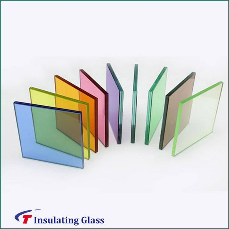 High quality professional laminated glass with high quality standard