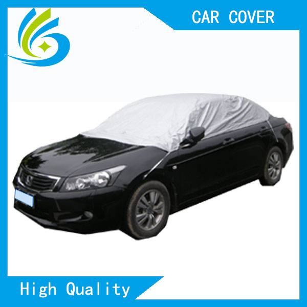waterproof sun shade fabric nylon half car roof cover