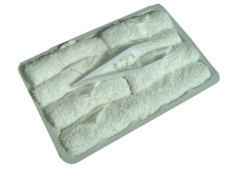 Tray towels for airlined