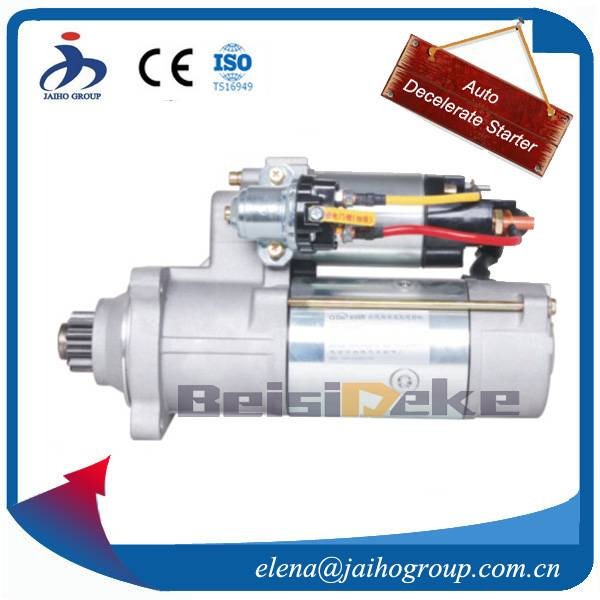 Starter Motor for Kumatsu S6D102 Kumatsu Starter 24V 6.0kW 11T  6008131750 :6008133320 600813350