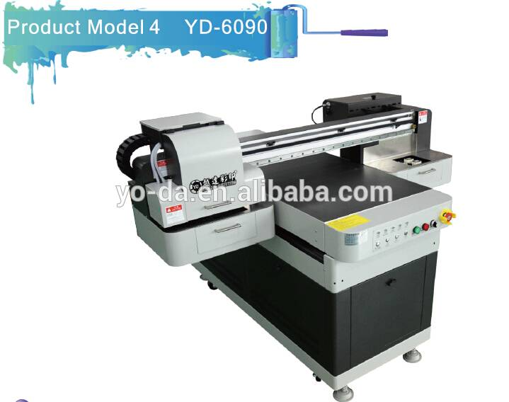factory price small format glass arcylic digital UV printer for sale