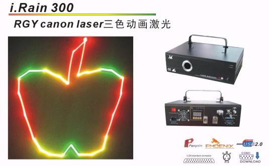 RGY canon laser