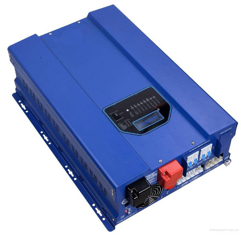 All-in-one 4000W 24V/48V Electrical Inverter with 110V/220V AC Charger, 40A/60A MPPT Solar Charger