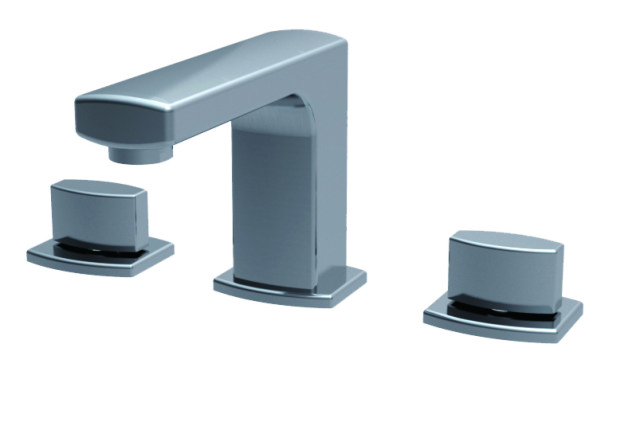 Double Handle Concealed Basin Faucet LD12321