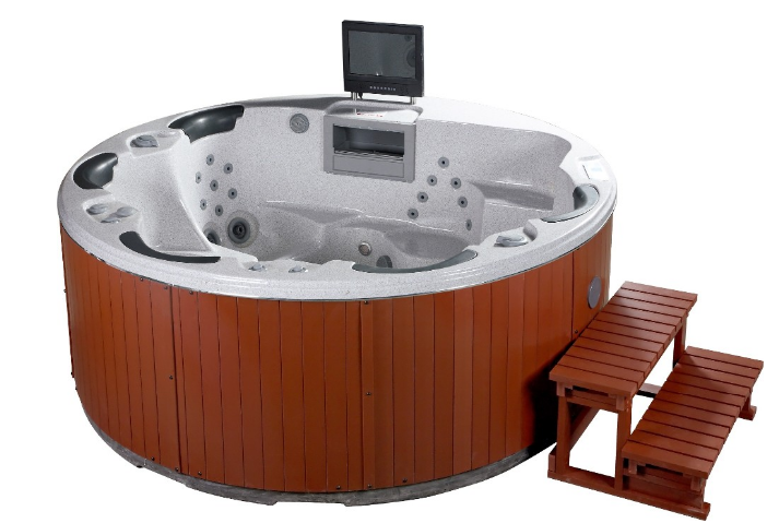HOT Luxury Round massage swimming pool spa outdoor tub(Mary)