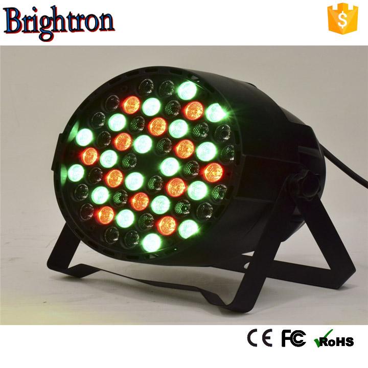 High brightness 543w par64 rgbww led par can light daisy chain circut