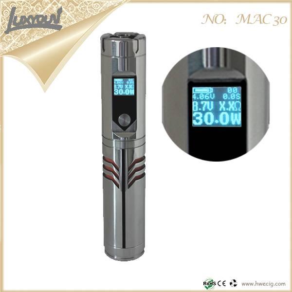 MAC 30 Mod Sigelei 20 Watt 30W/50W/100W/150W Sigelei 20W