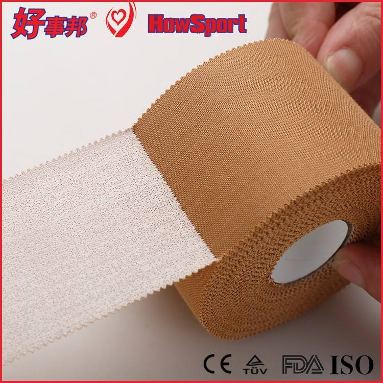 HowSport high tensile hand tearable viscose rayon rigid athletic strapping sports tape