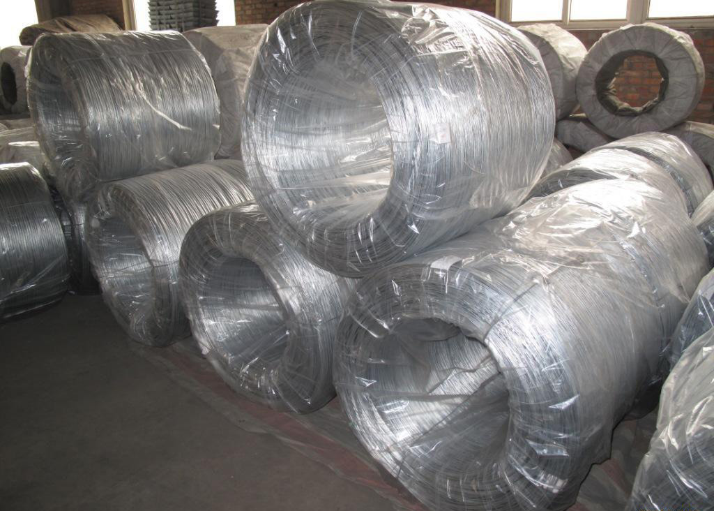 High quality hot dip galvanized raw iron wire