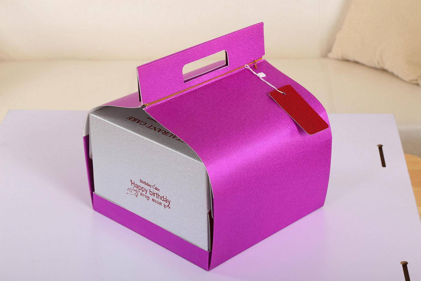Cake Packaging Boxes with Handles