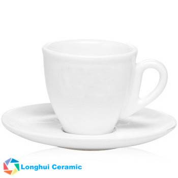 2oz Personalized porcelain Espresso cup&saucer set