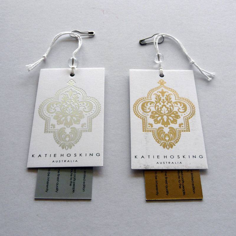 Custom Garment/Clothing Hang Tag/Swing Tag Printing