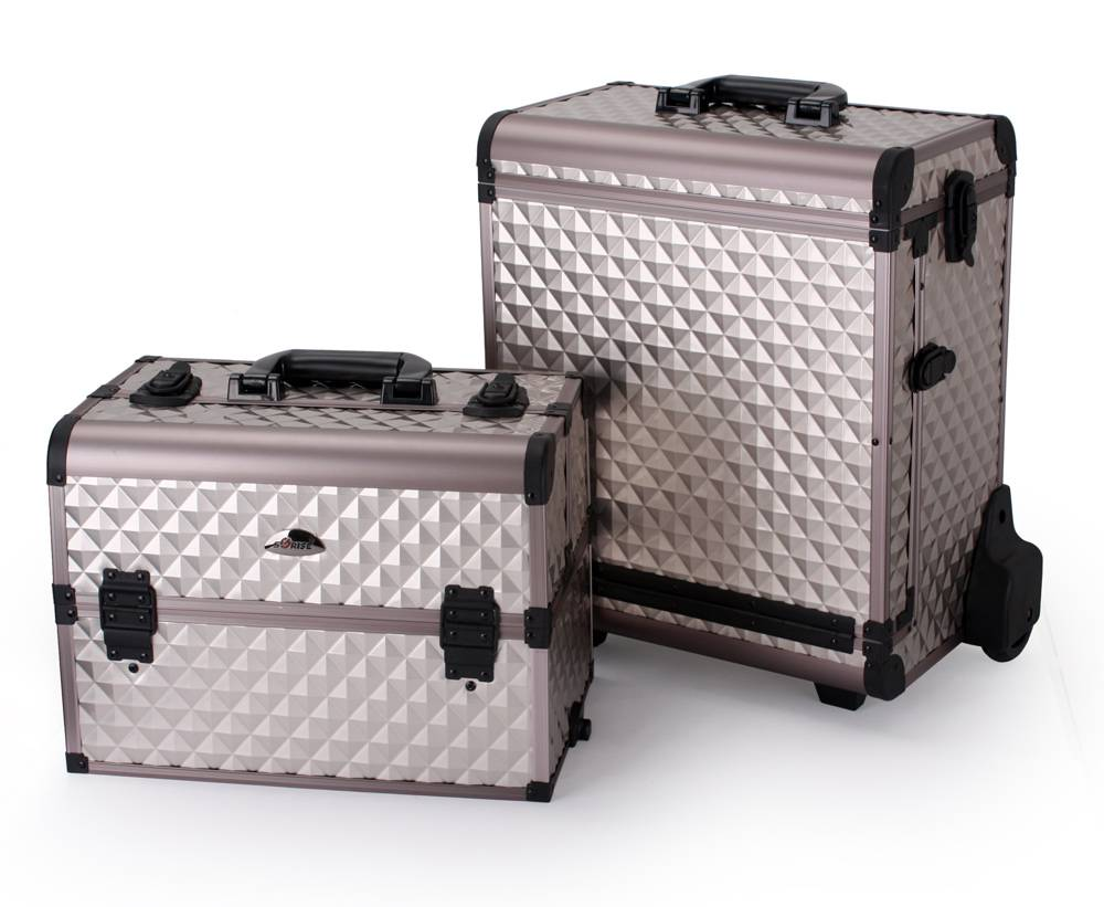 Multi Function Combination Beauty Case 2-IN-1 Cosmetic Removable Case