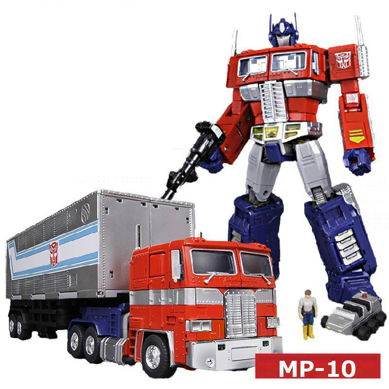"Masterpiece Reissue Optimus Prime (25cm/9.84"") 2.0 Version MP-10/MP10 With Trailer"