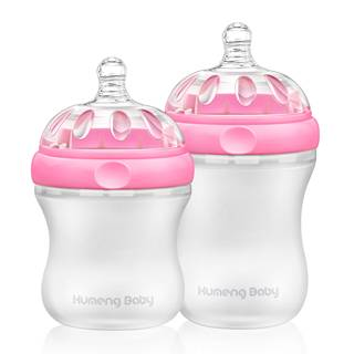 Kumeng Baby mimic Breastfeeding Silicone Baby bottle