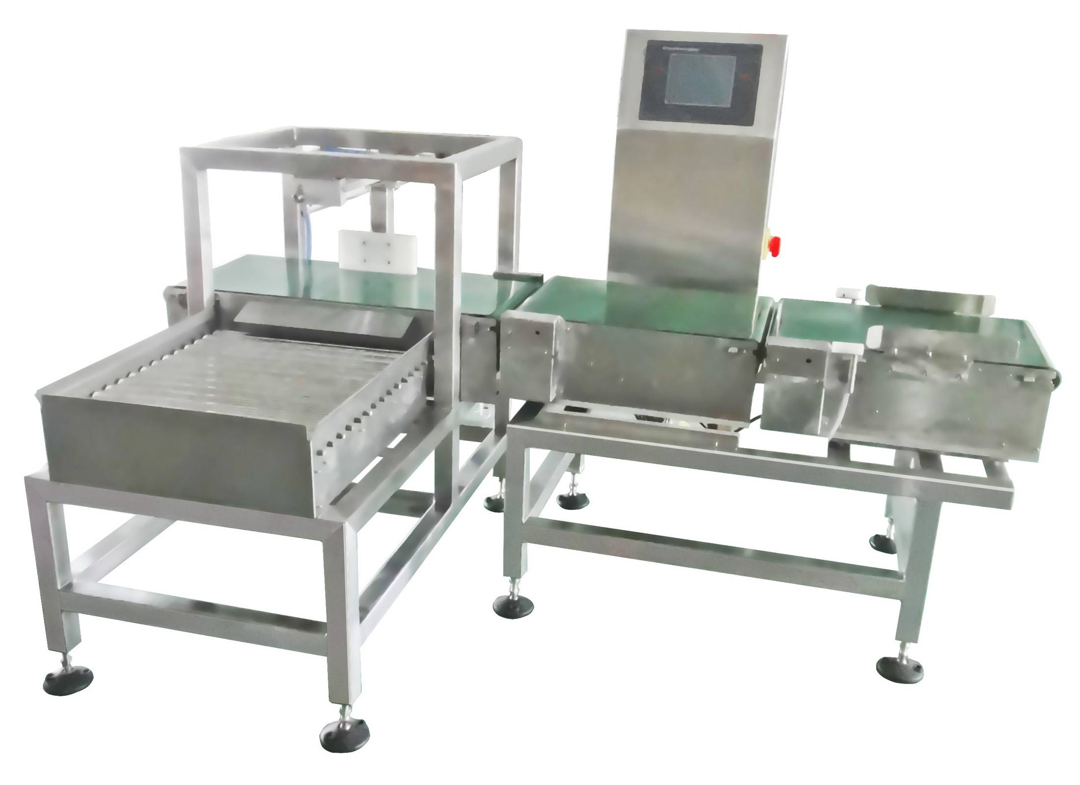2014 High Accuracy Checkweigher with Pusher Type