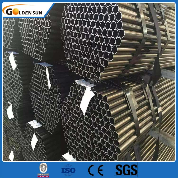 China supplier steel hollow section black steel pipe